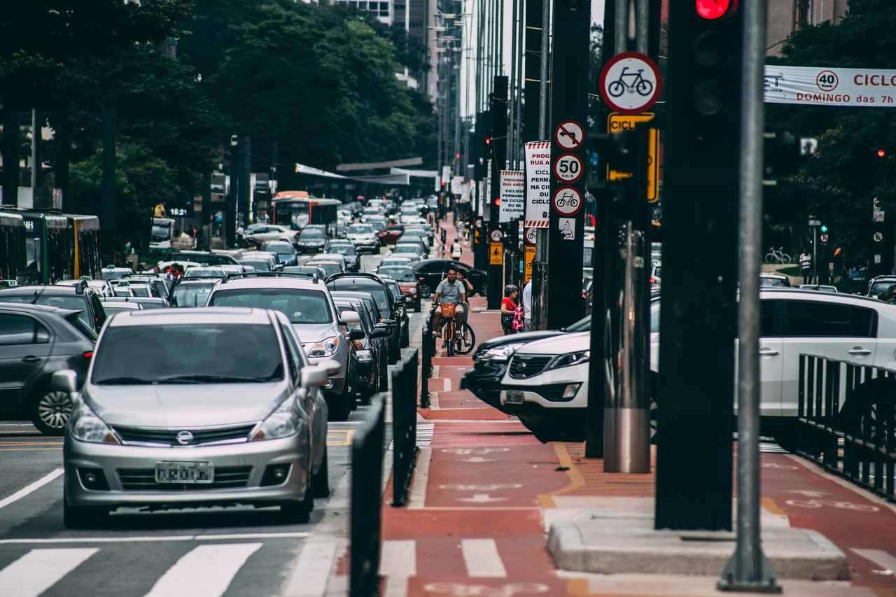 trânsito avenida paulista