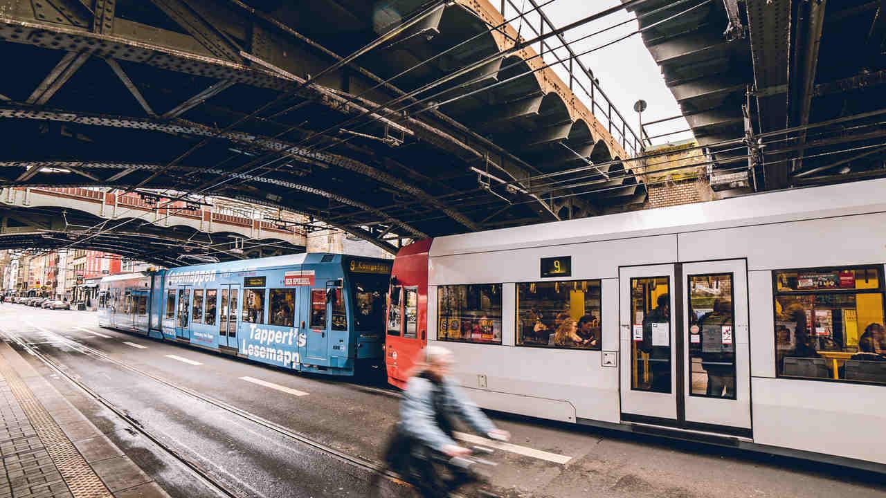 bonde eletrico metro pais da na europa