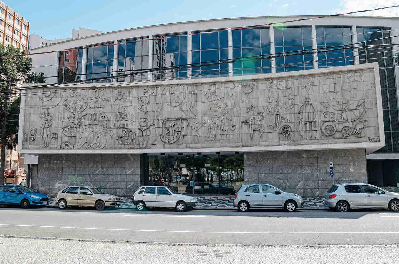 centro cultural teatro guaira curitiba parana estar