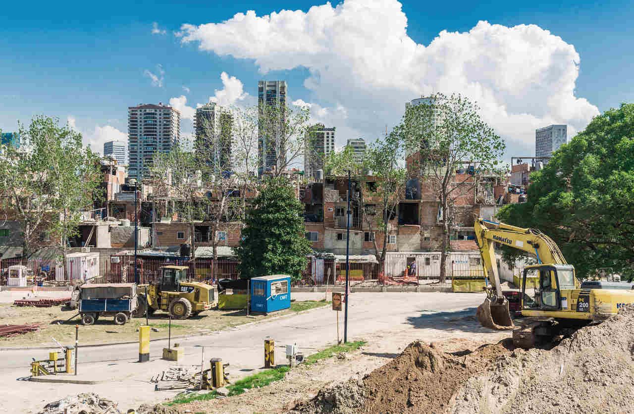 barrio 31 buenos aires argentina em reforma