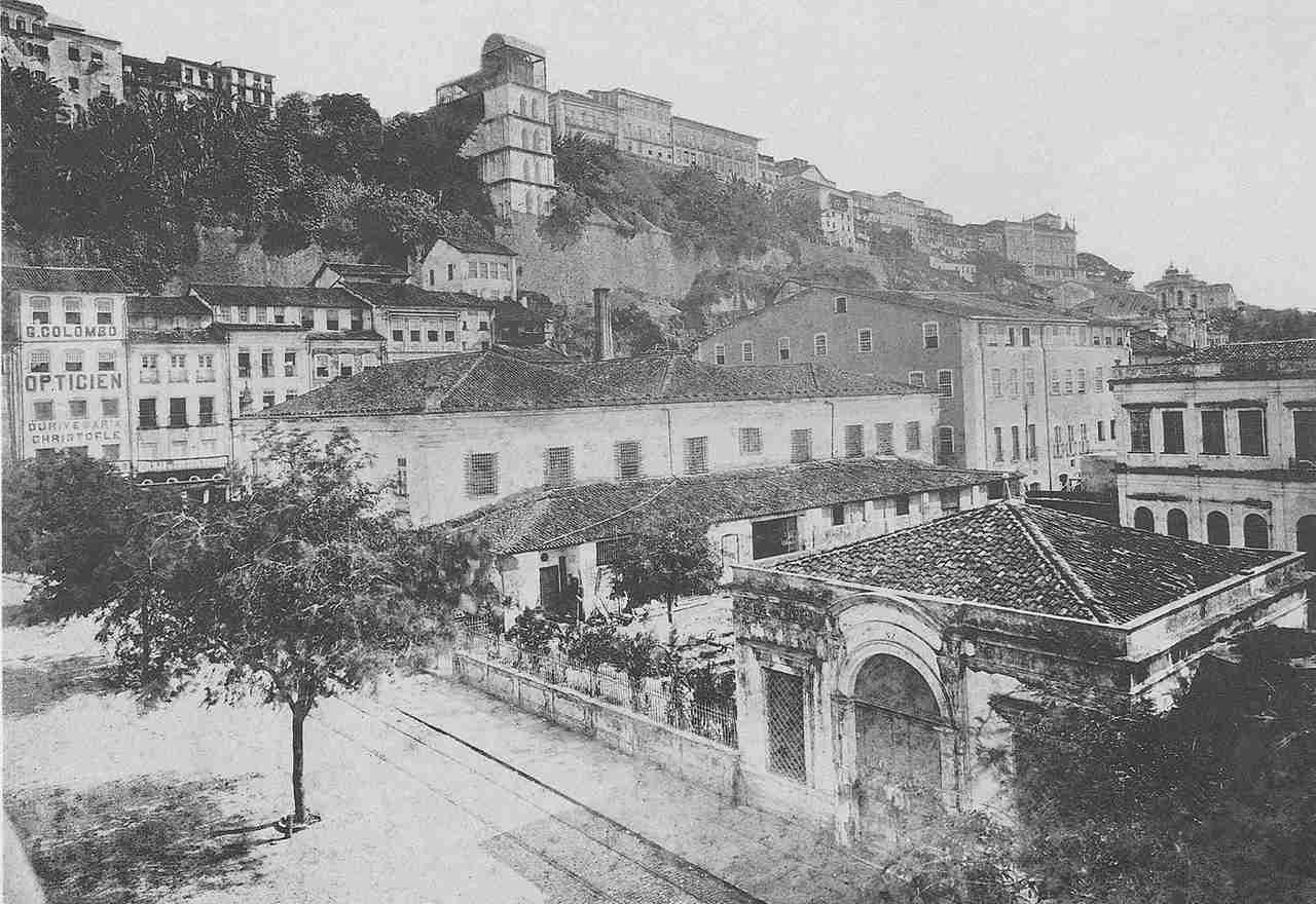 Elevador Lacerda 1910 Salvador Bahia