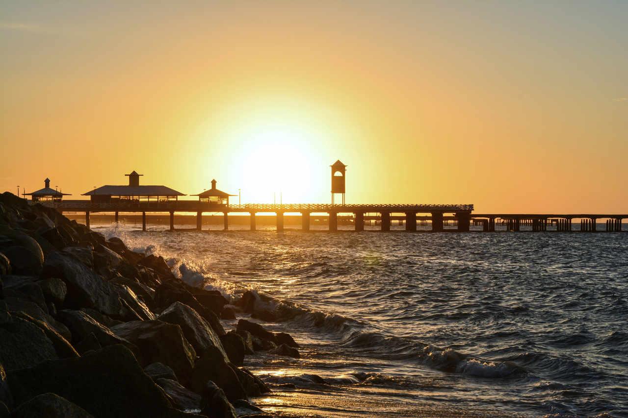 pontes dos ingleses praia de iracema Fortaleza ceara
