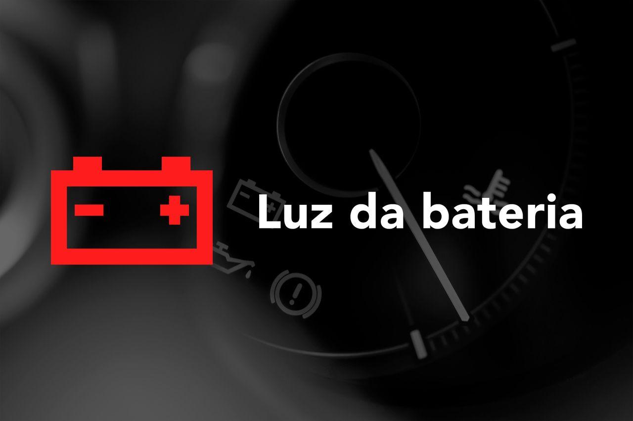 Luz da bateria painel do carro