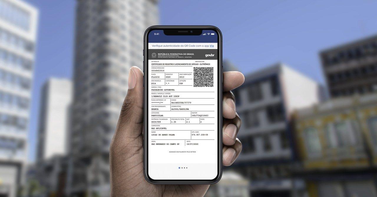 CRLV Digital: como baixar e usar o documento do carro pelo celular?